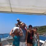 In barca tra Praia a Mare e Isola di Dino, 10 luglio 2016